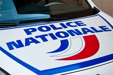 french car of police