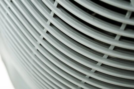 vent: closeup air conditioning grid Stock Photo