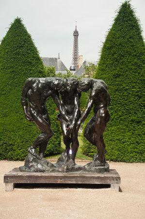 rodin: Rodin museum park in Paris