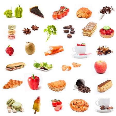 ingrediënten food collage