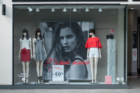 closet: MULHOUSE - France - 12 May 2017 - Morgan store - the women fashion chain