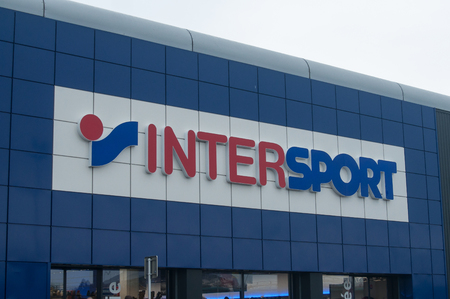 Mulhouse - France - 10 November 2017 -  The Intersport Group is an international sporting goods retailer and is leader internationally.