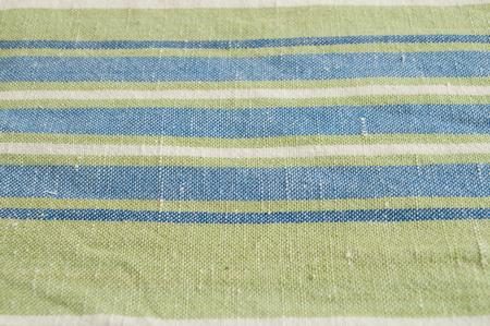 closeup of tea towel texture