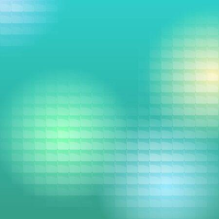 plexiglas: Colored light passes through the translucent blocks