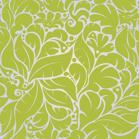 Beautiful seamless floral pattern background in vector Stock Vector - 11534054