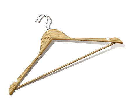 Clothes Hanger Stock Vector - 11832982