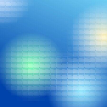 plexiglas: Blue Lite Tiles Background
