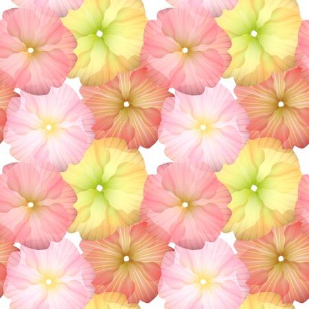 シームレスな花のパターン