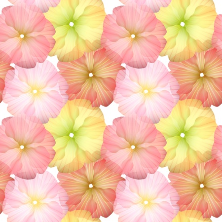 repeat structure: Seamless Flower Pattern