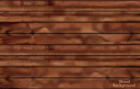 Dark wood planks Stock Vector - 11978410