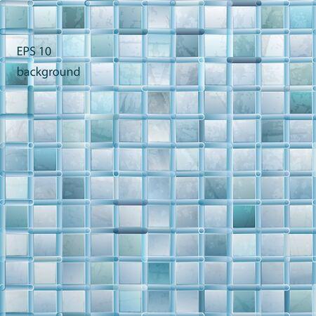 grunge light mosaic background Stock Vector - 11978409