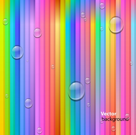 lines and drops background Stock Vector - 12473517