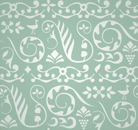 murals: Decorative Pattern Illustration