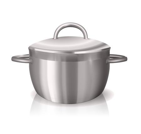 Metal Pan Stock Vector - 12473524