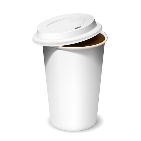lid: Coffee cup