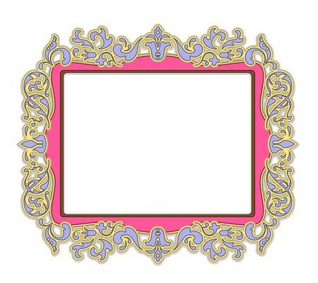 Frame voor schilderij of foto in delicate roze
