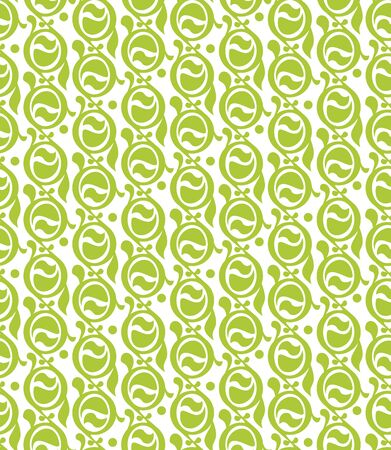 Abstract Seamless Decor Pattern of stylized circles in modern Stock Vector - 12957571