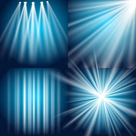 Light, Flash, Explosion and Glow background Stock Vector - 13133050