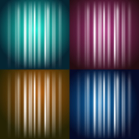 Vector Colored Shining Background  yellow, red, green, blue Stock Vector - 13441843