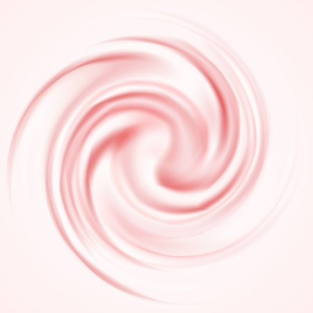 whirlpool: Curl Berry Mousse Background for tasty works Illustration