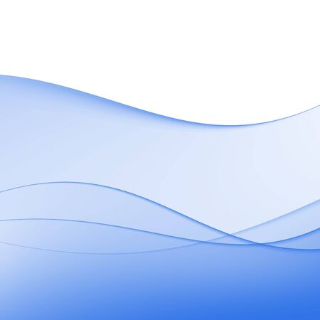 Blue abstract background  Waves and shadows  Vector illustration Stock Vector - 15375205