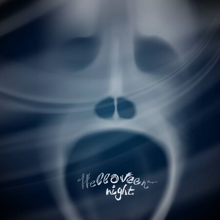 Halloween Night  Background for party or something  Vector illustration Stock Vector - 15448644