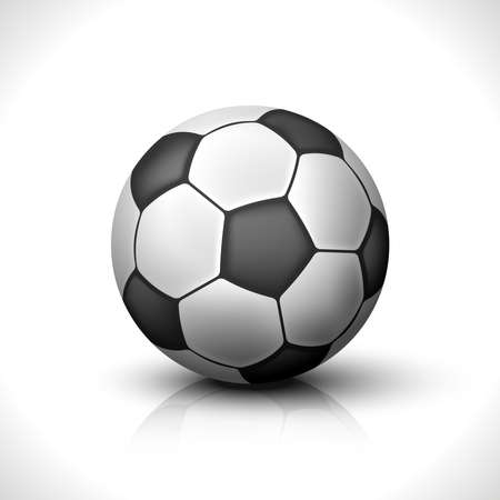 Soccer Ball isolated on white  Illustration Stock Vector - 16112753