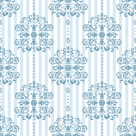 Royal Blue and White Background Pattern  Vector Illustration Vector