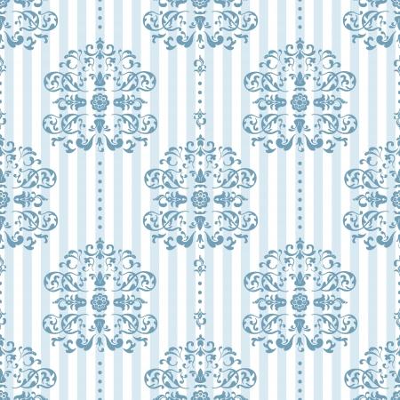 royal blue background: Royal Blue and White Background Pattern  Vector Illustration