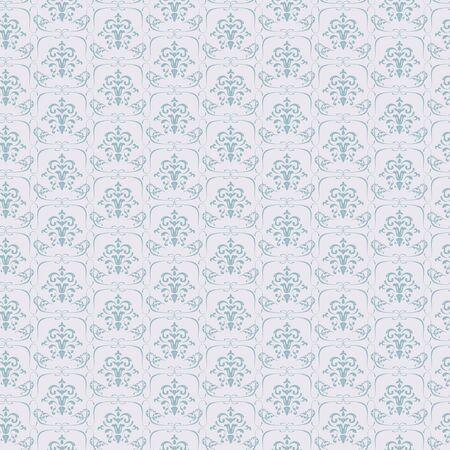Vector Blue Seamless wallpaper pattern on light background Stock Vector - 16668577