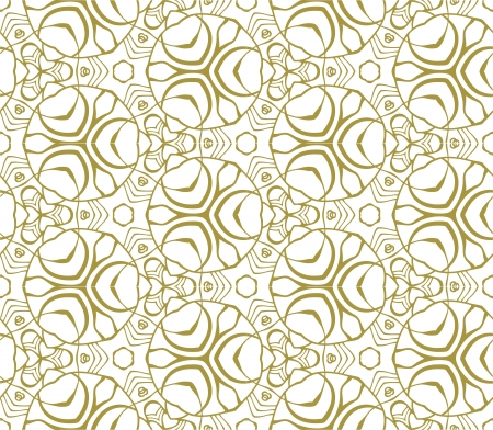 Seamless monochrome pattern kaleidoscope on white background Stock Vector - 17092580