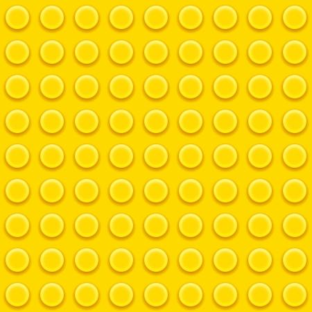 Vector Lego yellow blocks Seamless pattern background Stock Vector - 17186719