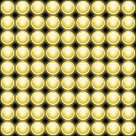 Vector Lamps Lights Board Abstract Backround on black Stock Vector - 18383422