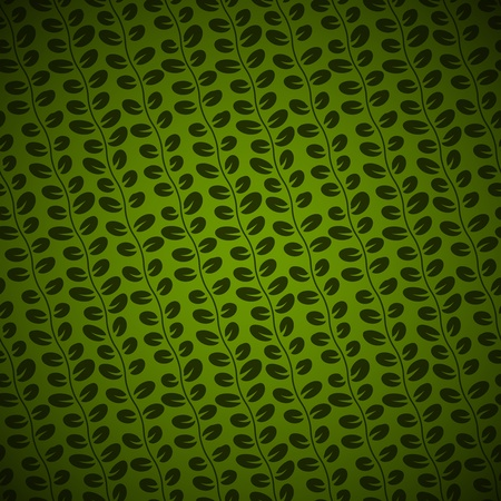 Seamless Diagonal Floral pattern on green background Stock Vector - 19982131