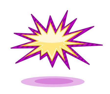 Burst icon Vector illustration on white background