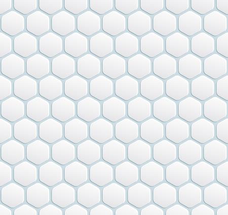 vector seamless modern white with hexagon Stock Vector - 25503586
