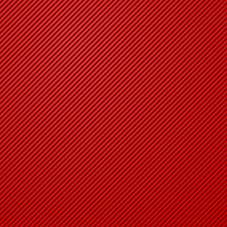 Diagonal red lines pattern straight stripes texture background Vector