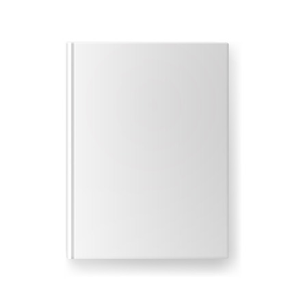 blank book: vector blank book cover design or branding template Illustration