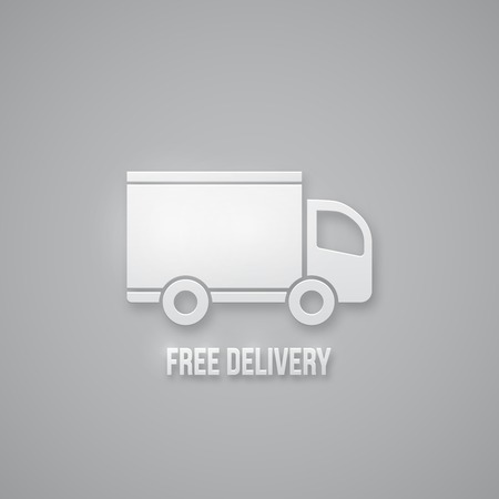 shipment: dispatch, shipment and free delivery sign vector vector illustration Illustration