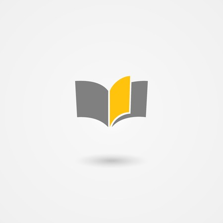 prose: book icon with yellow page on white background
