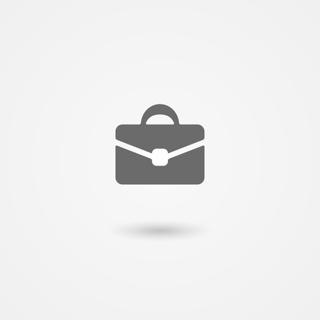 briefcase icon: briefcase icon for business, finance and management Illustration