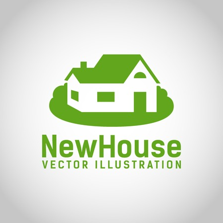 rural house: Real Estate House   Illustration