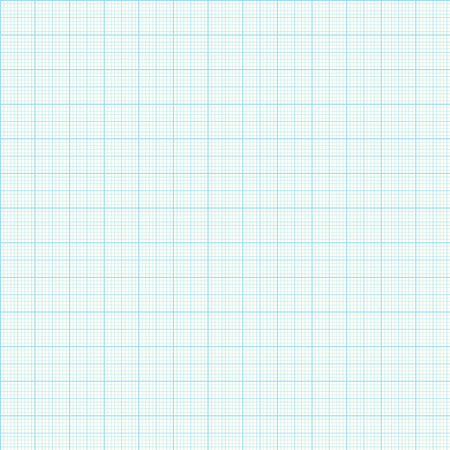 Paper Graph Grid seamless pattern vector background Illustration