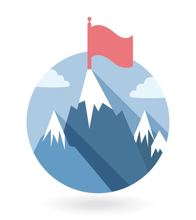 dominance: ganador vector icono gamification ilustraci�n en estilo plano