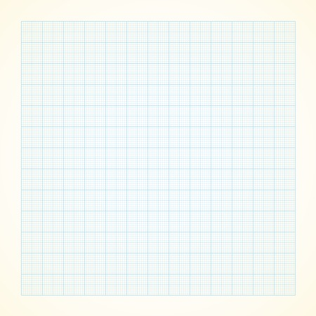 grid paper: Vector graph grid paper background with variable thickness lines