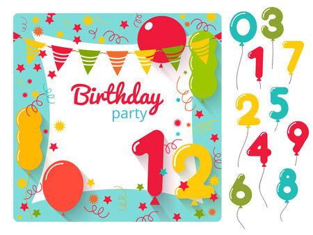kindergeburtstag party einladung – cloudhash, Einladungsentwurf