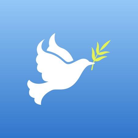 paz mundial: paloma de la paz Vectores