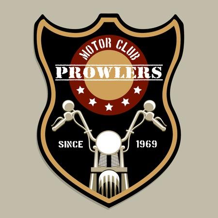 klubok: Motorkerékpár csoport kapott stílusú logó