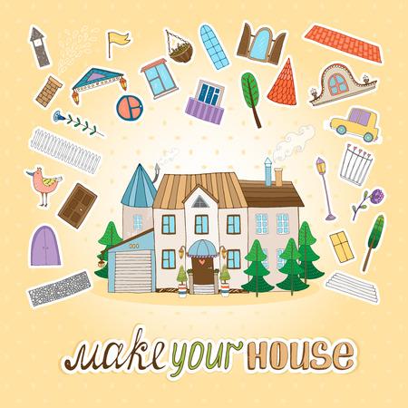 gable: Make Your House illustration  Illustration