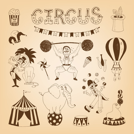 juggler: circus design elements